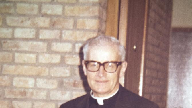 This undated photo released by the San Patricio church, shows Father Alfredo Leaden in Buenos Aires, Argentina. In what became known as the San Patricio Massacre, gunmen believed to be from a military unit stormed into the church after midnight on July 4, 1976, and shot to death three priests including Leaden and two seminarians - the bloodiest single act of violence against the Roman Catholic Church during Argentina's brutal dictatorship. Now Catholic officials in Argentina are working to have them declared saints. And the man who promoted their cause as archbishop has become Pope Francis. (AP Photo/San Patricio Church)