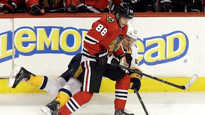 Blackhawks star Patrick Kane to miss about 3 weeks