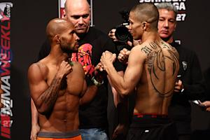 UFC on Fox 8 Johnson vs. Moraga Weigh-in Results: Several Fighters Miss the Mark