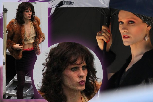 "Jared Leto als Cross-Dresser in ""Dallas Buyers Club"". (Bilder: Splash News)"