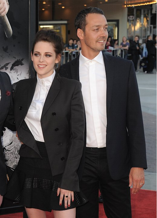 FILE - This May 29, 2012 file photo shows actress Kristen Stewart and director Rupert Sanders attending the