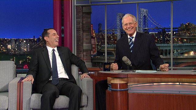 David Letterman - Will Jerry Seinfeld Get Coffee with Dave?