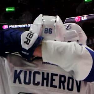 Mic'd Up: Kucherov nets his second goal