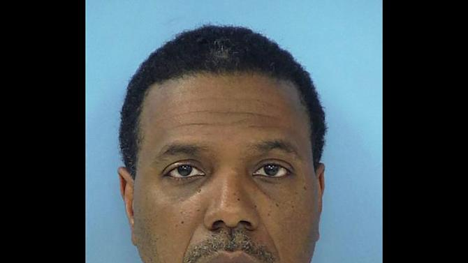 "This Friday, June 8, 2012 photo provided by the Fayette County Sheriff's Office shows megachurch pastor Creflo Dollar. Dollar has been arrested after authorities say he slightly hurt his 15-year-old daughter in a fight at his metro Atlanta home. Fayette County Sheriff's Office investigator Brent Rowan says deputies responded to a call of domestic violence at the home around 1 a.m. Friday. Rowan says the 50-year-old pastor and his daughter were arguing over whether she could go to a party when Dollar ""got physical"" with her, leaving her with ""superficial injuries."" (AP Photo/Fayette County Sheriff's Office)"