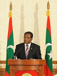 Maldives President Mohamed Waheed Hassan Manik addresses the nation in Male. A Commonwealth-backed investigation in the Maldives on Thursday dismissed claims that a coup forced Mohamed Nasheed from the presidency in February and declared it was a legitimate transfer of power