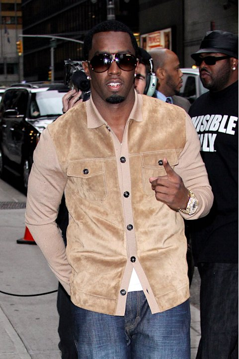 Combs Sean Diddy Letterman