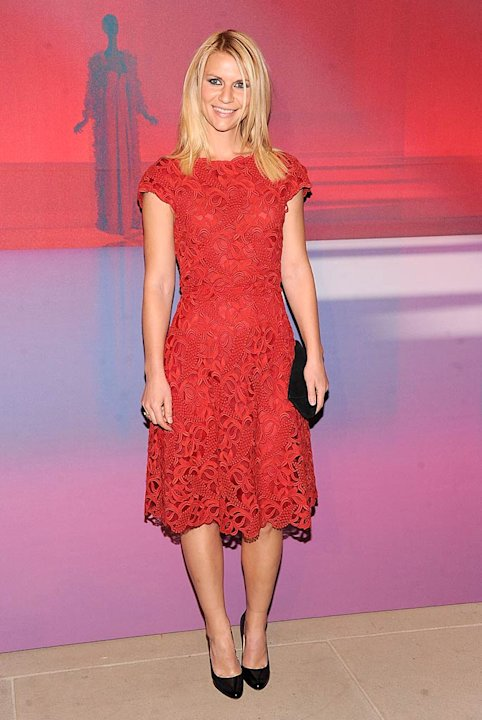 Claire Danes Valentino Museum Launch
