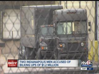 UPS employee, contractor accused of defrauding shipping company out of $1.2 million in scheme