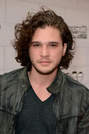 145620610Kit Harington arrives at Spike TV's 6th Annual 'Guys Choice Awards' at Sony Pictures Studios, Culver city, on June 2, 2012 -- Getty Images