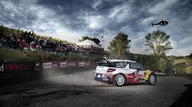 Loeb WRC France Citroën