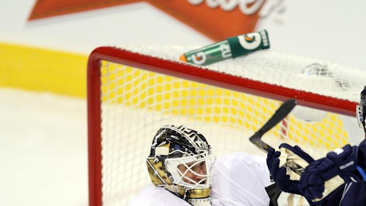NHL: Pittsburgh Penguins at Winnipeg Jets