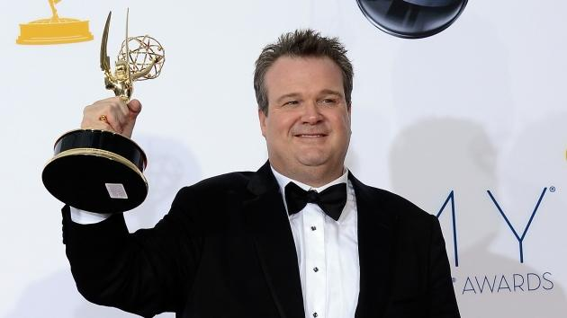 Eric Stonestreet, winner Outstanding Supporting Actor in a Comedy Series for 'Modern Family,' poses in the press room during the 64th Annual Primetime Emmy Awards at Nokia Theatre L.A. Live in Los Angeles on September 23, 2012 -- Getty Images