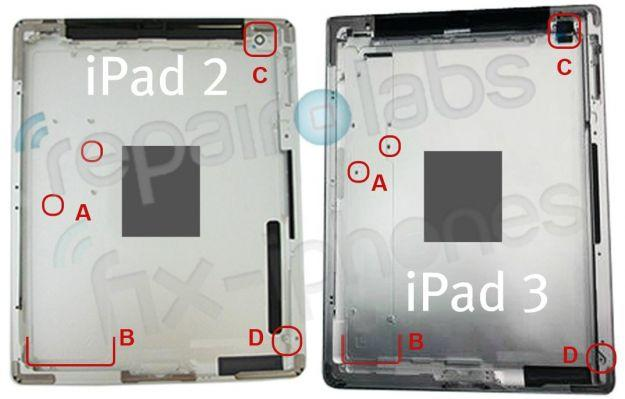 Leaked photo of iPad 3 casing hints at upcoming changes