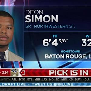 New York Jets pick defensive tackle Deon Simon No. 223 in 2015 NFL Draft