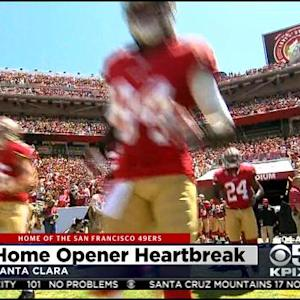 49ers Inaugurate Levi's Stadium In Nationally-Televised Prime-Time Matchup Against Chicago Bears