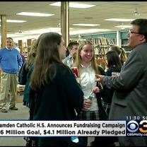 Camden Catholic High School Announces $6 Million Fundraising Campaign