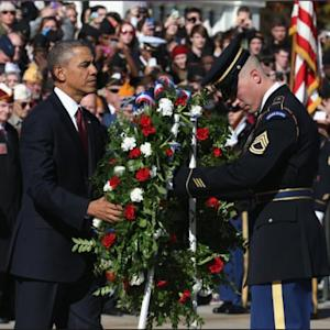 President, Nation Honor Military Veterans For 'highest Service'
