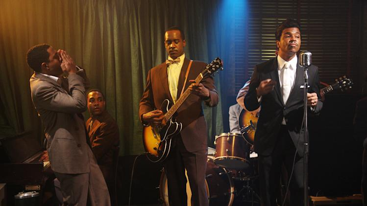 Jordan C. Haynes Albert Jones Jeffrey Wright Cadillac Records Production Stills Tristar 2008