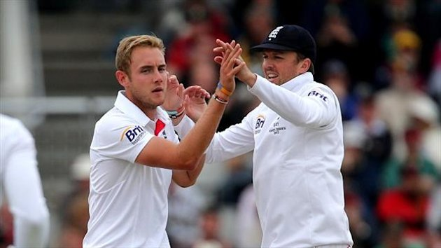 Stuart Broad, left, and Graeme Swann have been made available for Nottinghamshire