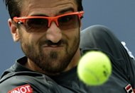 "Top seed Janko Tipsarevic, pictured here at the US Open on September 6, is hoping to make a winning return to ""easy-going"" Asia as the Thailand Open begins Monday and the ATP shifts east for the remaining weeks of the season"