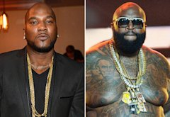 Young Jeezy, Rick Ross | Photo Credits: Prince Williams/FilmMagic; Rick Diamond/Getty Images