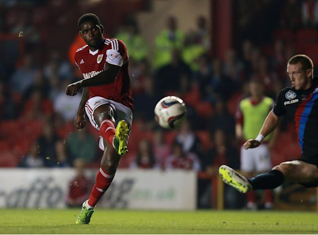 Soccer - Capital One Cup - Second Round - Bristol City v Crystal Palace - Ashton Gate