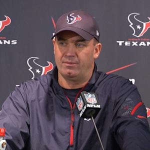 Houston Texans postgame press conference
