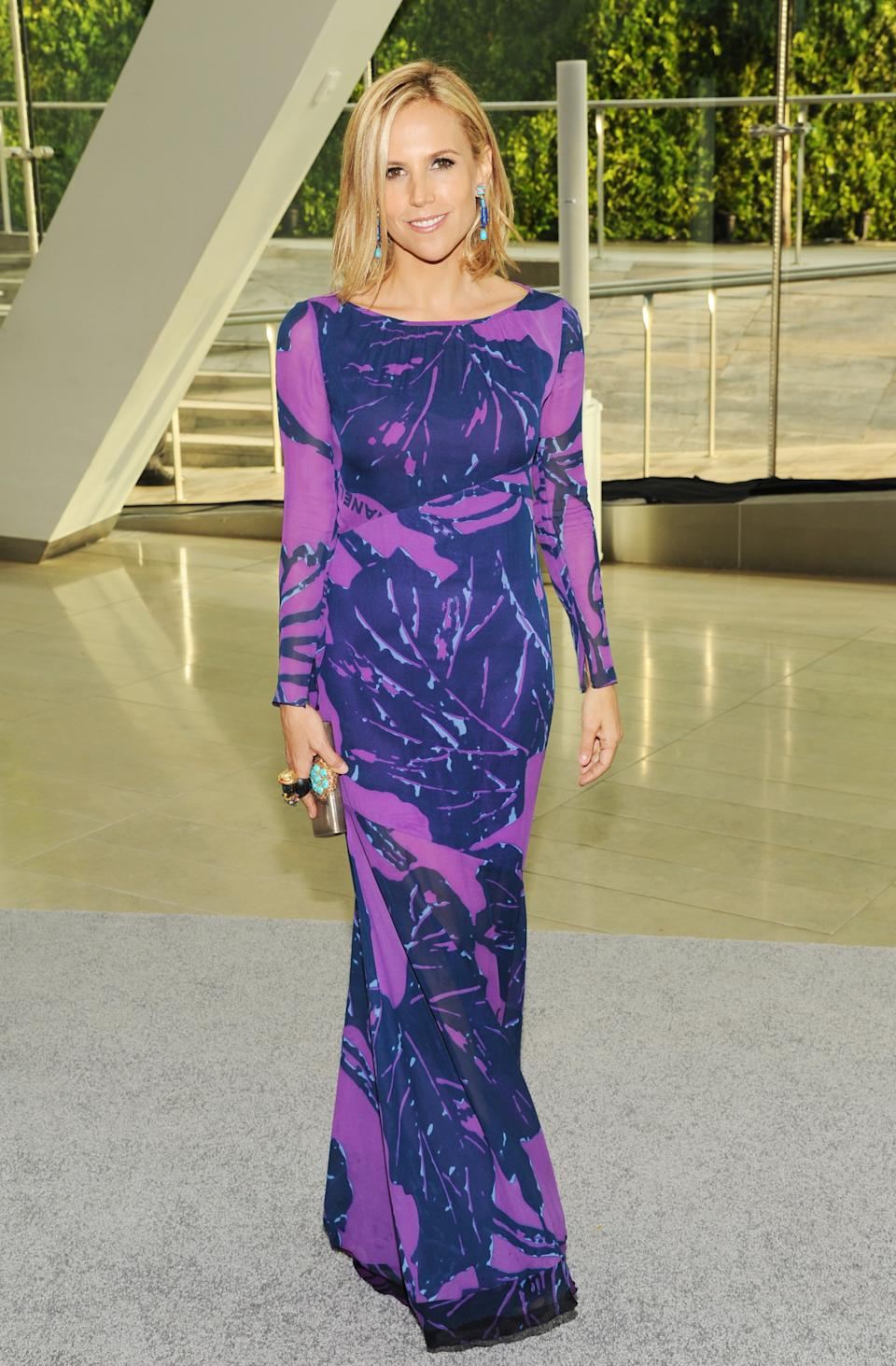 Designer Tory Burch attends the 2013 CFDA Fashion Awards at Alice Tully Hall on Monday, June 3, 2013 in New York. (Photo by Evan Agostini/Invision/AP)