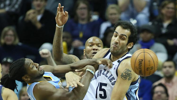 NBA: Denver Nuggets at Memphis Grizzlies