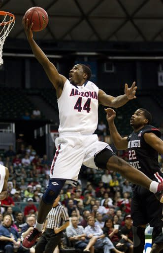 No. 3 Arizona rallies to top No. 17 San Diego St