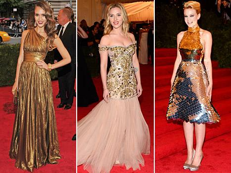 Met Costume Gala 2012: Best Dressed Stars