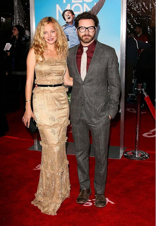 Yes Man LA Premiere 2008 Bijou Phillips and Danny Masterson