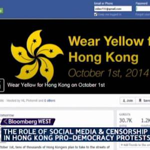 How Social Media Is Used in Hong Kong Protests