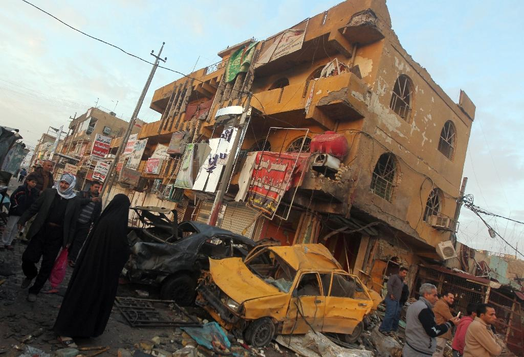 Suicide bomber kills 26 in attack on anti-IS fighters in Iraq