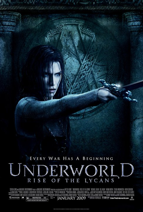 Underworld: Rise of the Lycans Poster Production Stills Screen Gems 2009