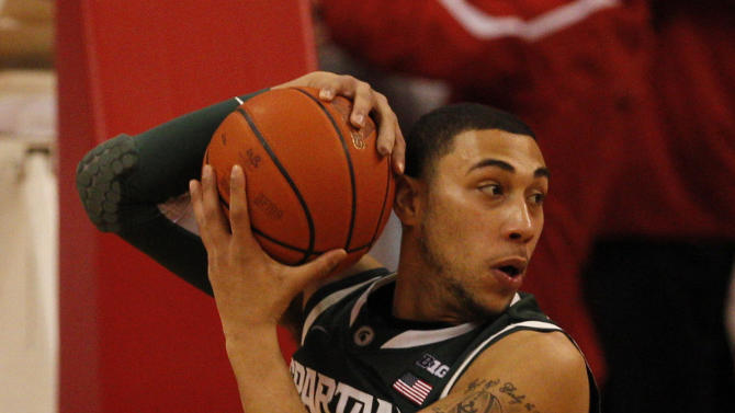 NCAA Basketball: Michigan State at Nebraska