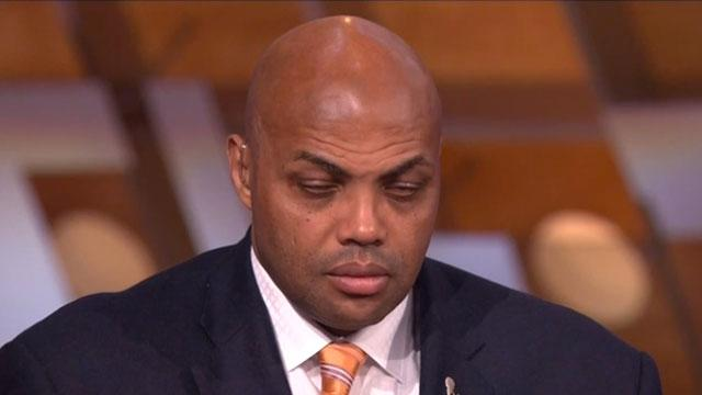 Charles Barkley dozes during broadcast. Attributes it to Scandal.