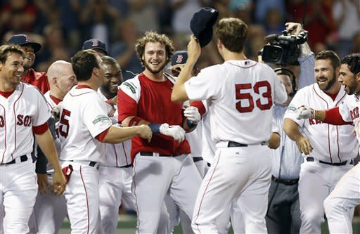 Red Sox rally in 9th for 3-2 win over Rays