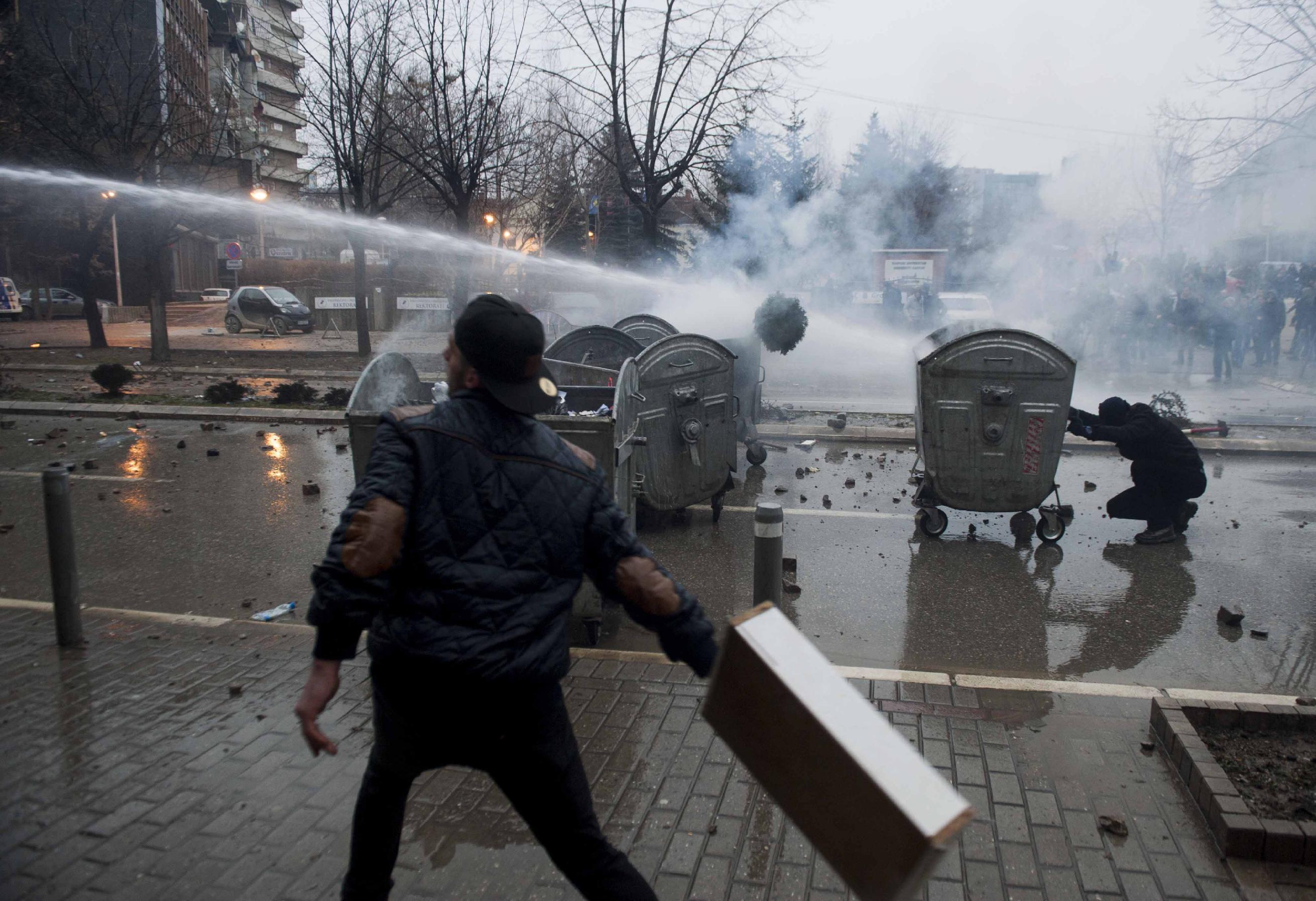 80 injured in Kosovo riot over jibe by ethnic Serb minister
