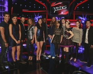 The Voice Exclusive Video: Season 3′s Top 12 Channel Their Inner Secret Agents