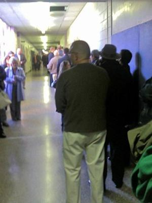 First Person: In Virginia, Heavy Turnout, but Poll Workers Keep the Line Moving