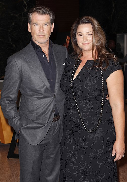 The Greatest LA premiere 2010 Pierce Brosnan Keely Shaye Smith