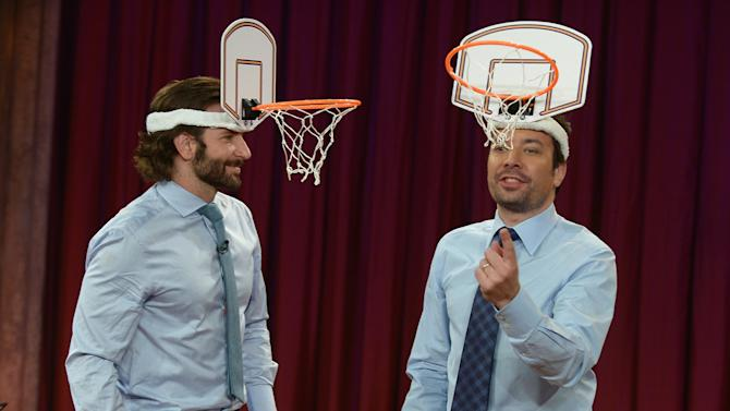 """Bradley Cooper Visits """"Late Night With Jimmy Fallon"""""""