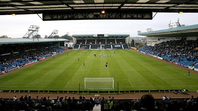 The SPL clash between Kilmarnock and Hibernian at Rugby Park was abandoned