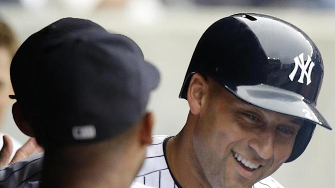 Jeter gives Yanks jolt, Soriano gives them win