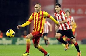 Iniesta: No crisis of confidence at Barcelona