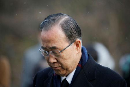 Ex-U.N. chief Ban says South Korea's THAAD deployment appropriate