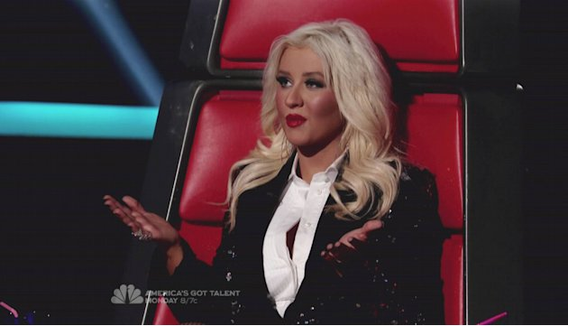 Christina AguileraNBC's 'The Voice' Season 2 Finale Part 2 The winner is revealed; Justin Bieber, Flo Rida, Lady Antebellum and Hall & Oates perform USA - 08.05.12 Supplied by WENN.com  WE
