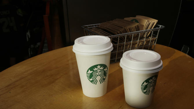Starbucks' profit climbs as customers spend more
