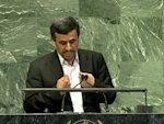 Iran under threat by 'uncivilized Zionists' -Ahmadinejad